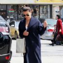 Lea Michele – Heading to a spa in Los Angeles