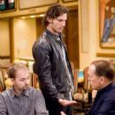"Daniel Negreanu observes a father/son transaction between Huck Cheever (Eric Bana) and L.C. Cheever (Robert Duvall) on the Bellagio set of Warner Bros. Pictures' and Village Roadshow Pictures' ""Lucky You."" The film also stars Drew"