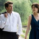 In Columbia Pictures' Made of Honor, when Tom's (Patrick Dempsey, left) best friend, Hannah (Michelle Monaghan, right), asks him to be her maid of honor, Tom accepts - but only so he can woo the bride-to-be and attempt to stop the wedding before i