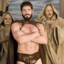 Center: Sean Maguire star as Leonidas in Meet the Spartans.