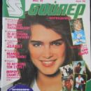 Brooke Shields - SUPER Magazine Cover [Greece] (May 1982)