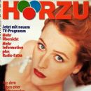 Gillian Anderson - Hörzu Magazine Cover [Germany] (23 April 1998)