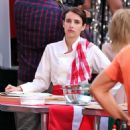 Emma Roberts on the set of 'Little Italy' in Toronto