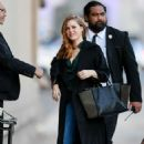 Amy Adams – Arrives at 'Jimmy Kimmel Live' in Los Angeles