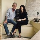 Anthony Bourdain and Asia Argento - 454 x 462