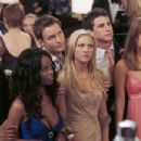 (L to R) Collins Pennie, Dana Davis, Scott Porter, Brittany Snow, Kelly Blatz and Jessica Stroup star in Screen Gems' thriller PROM NIGHT. Photo by: Suzanne Tenner. ©2008 Screen Gems, Inc. and Miramax Film Corp. All Rights Reserved. - 454 x 302