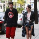 Ashley Benson and Ryan Good in Los Angeles, California (February 4) - 454 x 572
