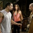 Xavier (Franky G), Addison (Emmanuelle Vaugier) and Obi (Timothy Burd) from SAW II. Photo credit: Steve Wilkie
