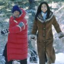Cuba Gooding Jr. and Joanna Bacalso in Disney's Snow Dogs - 2002
