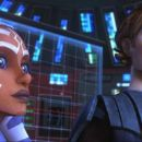 Anakin and Ahsoka prepare their battle strategy in a scene from the upcoming 'Star Wars: The Clone Wars,' the first-ever animated Star Wars project from Lucasfilm Animation and Star Wars creator George Lucas. 'Star Wars: The Clone Wars' wi