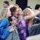 Erika Christensen, Robin Thomas, Susan Sarandon, Eva Amurri and Goldie Hawn in Fox Searchlight's The Banger Sisters - 2002