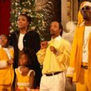 Gabrielle Union, Katt Williams, and Charlie Murphy in The Perfect Holiday, a Yari Film Group Release. ©2007 Yari Film Group Releasing. - 454 x 302