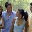 Eliza Dushku, Desmond Harrington and Emmanuelle Chriqui in 20th Century Fox's Wrong Turn - 2003