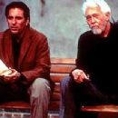 Andy Garcia and James Coburn in IDP's The Man From Elysian Fields - 2002