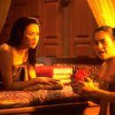 Siriwimol Charoenpura as Tao Srisudachan and Jiravadee Israngura as Prik in Sony Pictures Classics' The Legend of Suriyothai - 2003 - 454 x 344