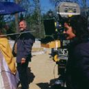 Director Mary McGuckian on the set of THE BRIDGE OF SAN LUIS REY. - 454 x 314