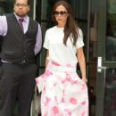 Victoria Beckham Leaving Her Hotel In Nyc