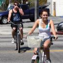 Riding Bikes at Toluca Lake with Billy Ray