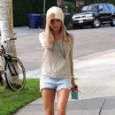 Ashley Tisdale: picking up a dress at Barneys New York in Los Angeles