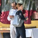 Belinda Carlisle Out for lunch in Santa Monica