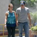 Jennifer Love Hewitt And Ross McCall Walk On The Streets Of Burbank, June 28 2008 - 454 x 615