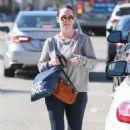 Jennifer Love Hewitt in Tights – Leaving a gym in Studio City - 454 x 681