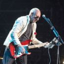 Pete Townshend performs at a concert during the Abu Dhabi Formula One Grand Prix on November 23, 2014 in Abu Dhabi, United Arab Emirates.