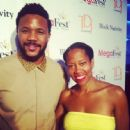 Tika Sumpter and Hosea Chanchez - 454 x 446