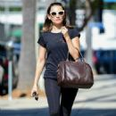 Rachael Leigh Cook in Spandex – Heading to a gym in Studio City - 454 x 682