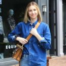 Whitney Port in Ripped Jeans – Out in West Hollywood - 454 x 681