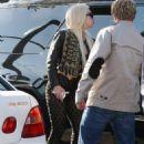 Lady Gaga out in LA (July 9)