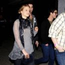 Dianna Agron: leaving El Rey Theater