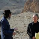 Larry Charles and Bill Maher during production on their documentary RELIGULOUS. Photo credit: Alexandra Lambrinidis.