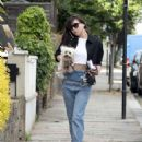 Daisy Lowe in Jeans – Out in London - 454 x 579