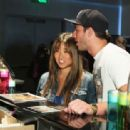 Jenna Ushkowitz and Michael Trevino - 454 x 313