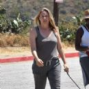 Alicia Silverstone – Out on a hike with her dogs in Los Angeles - 454 x 698
