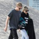 Miley Cyrus and Cody Simpson at Malibu Beach