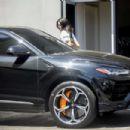 Kendall Jenner – Brings her Ferrari in for a service at the Ferrari dealer in Beverly Hills
