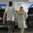 Emma Roberts in Mini Dress and Garrett Hedlund – Go for a check up in Los Angeles - 454 x 409