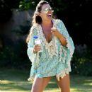 Danielle Lloyd has fun in Birmingham - 454 x 733
