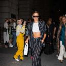 Irina Shayk – Leaving the Oscar de la Renta Show at NYFW