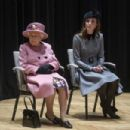Queen Elizabeth II And The Duchess Of Cambridge Visit King's College London (March 19, 2019) - 454 x 303