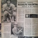 Rudolph Valentino - Cinemonde Magazine Pictorial [France] (11 October 1956) - 454 x 593