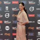 Angie Cepeda- Platino Awards 2017- Red Carpet - 405 x 600