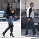 Kim Kardashian and Cristiano Ronaldo go out to lunch Madrid April 16 2010