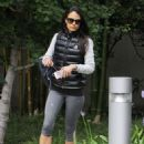 Jordana Brewster: hits the gym in Brentwood