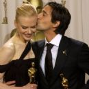 Nicole Kidman and Adrien Brody At The 75th Annual Academy Awards (2003) - Press Room - 454 x 682