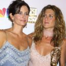 Courteney Cox and Jennifer Aniston At The 54th Annual Primetime Emmy Awards (2002)