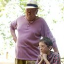 Uncle Henry (Albert Finney) uses a game of chess to teach his young nephew Max (Freddie Highmore) some important life lessons in A GOOD YEAR. Photo credit: Rico Torres