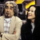 EUGENE LEVY and Catherine Ohara in Castle Rock Entertainments documentary-style comedy 'A Mighty Wind,' distributed by Warner Bros. Pictures.